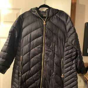 Michael kors hooded puffer